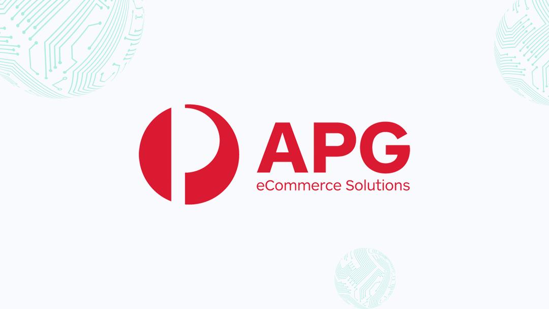 Sponsor Announcement: APG eCommerce